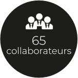 65 collaborateurs