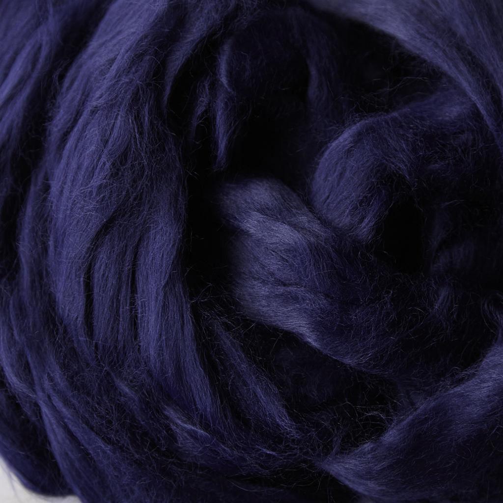 Ruban viscose bleu l Peignage Dumortier