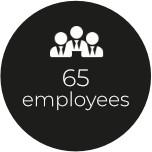 65 employees